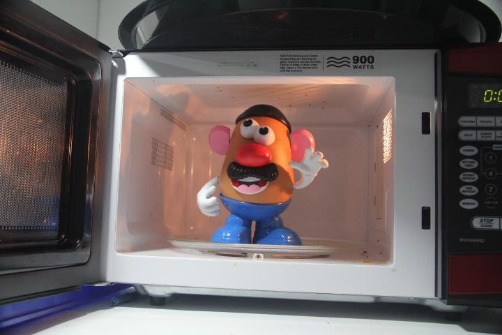 "Mr \""Baked\"" Potato"