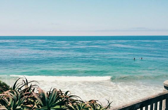 Thalia Street in Laguna Beach, California