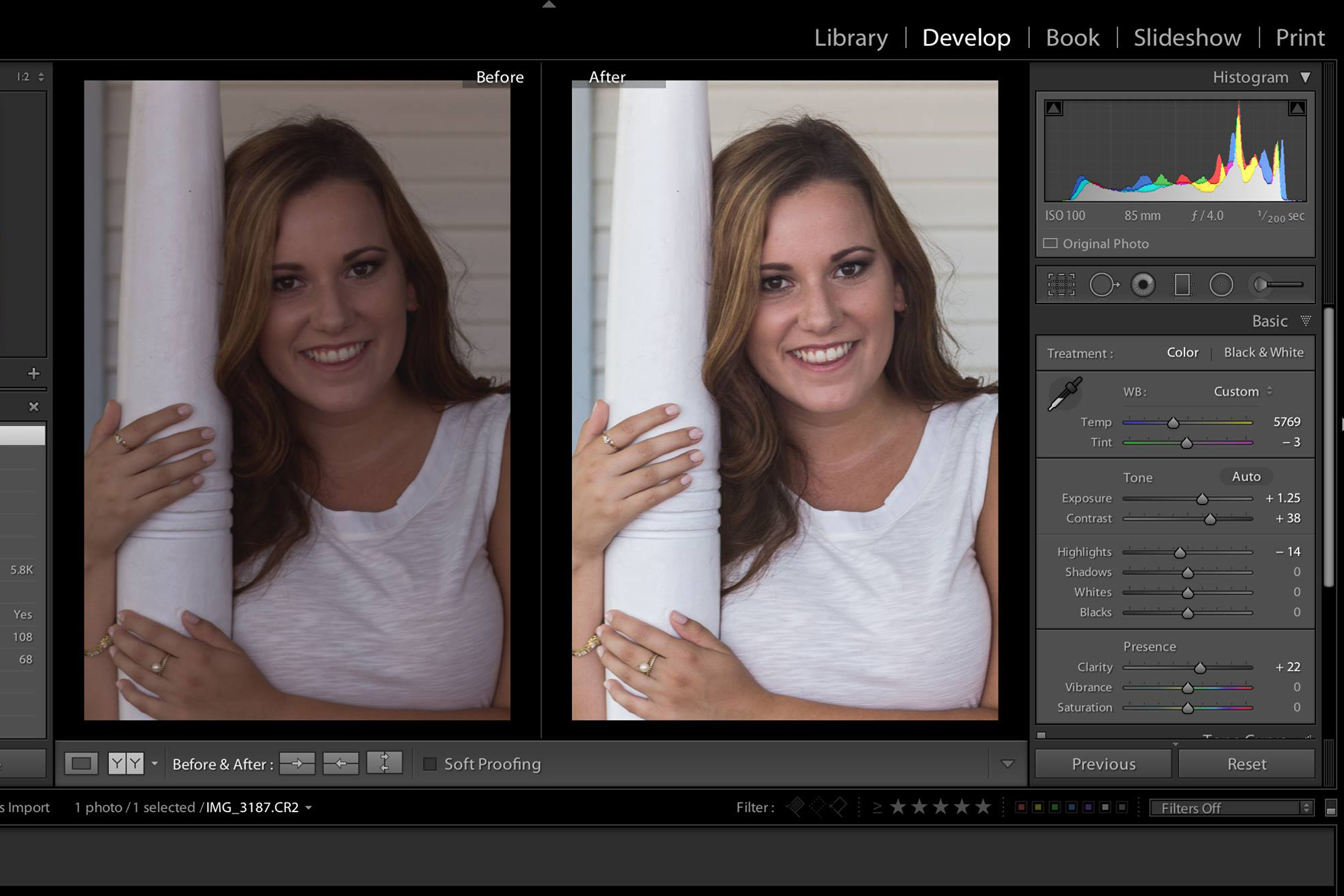 Lightroom Basics: Editing and Workflow